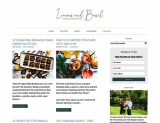 lemonsandbasil.com screenshot