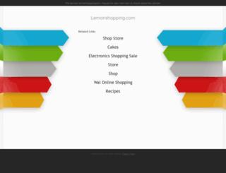 lemonshopping.com screenshot