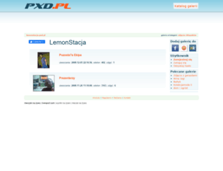 lemonstacja.pxd.pl screenshot