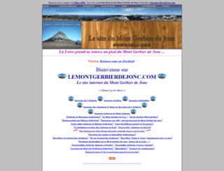 lemontgerbierdejonc.com screenshot