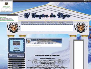 lempiredutigre.fr screenshot