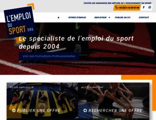 lemploidusport.org screenshot