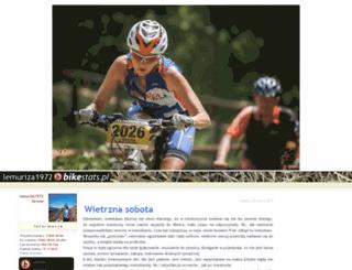 lemuriza1972.bikestats.pl screenshot