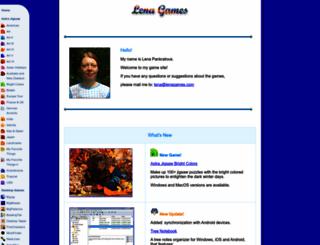 lenagames.com screenshot