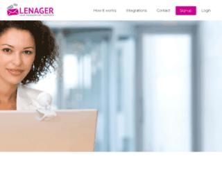 lenager.com screenshot