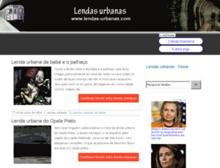 lendas-urbanas.com screenshot