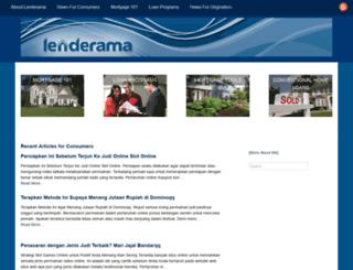 lenderama.com screenshot