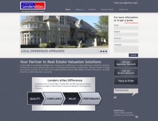lendersallies.com screenshot