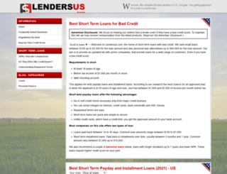lendersus.com screenshot