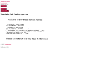 lendingapps.com screenshot