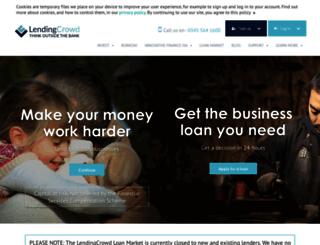 lendingcrowd.com screenshot