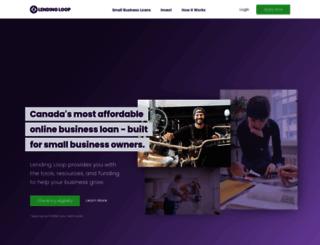 lendingloop.ca screenshot