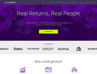 lendingrobot.com screenshot