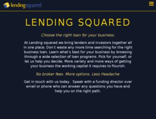 lendingsquared.com screenshot
