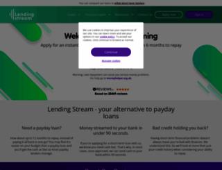 lendingstream.co.uk screenshot
