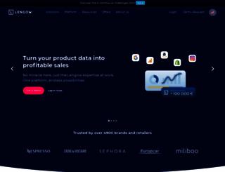 lengow.com screenshot
