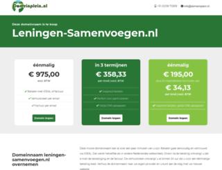 leningen-samenvoegen.nl screenshot