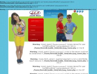 lenjeans.com.br screenshot