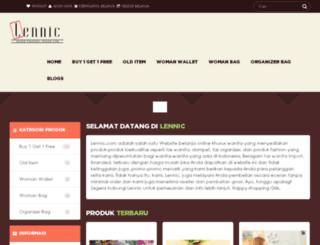 lennic.com screenshot
