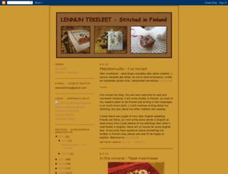 lennuntekeleet.blogspot.com screenshot