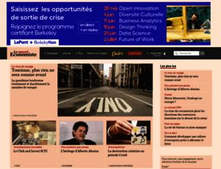 lenouveleconomiste.fr screenshot