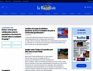 lenouvelliste.com screenshot