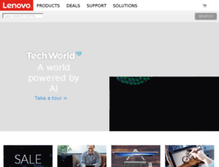 lenovo.myworldata.com screenshot