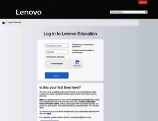 lenovoedu.lenovo.com screenshot