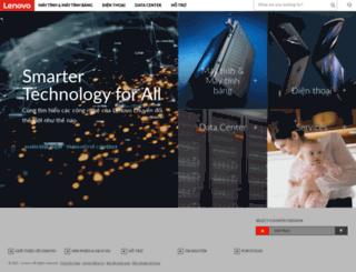 lenovovietnam.com.vn screenshot