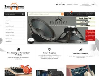 lenrom.com screenshot
