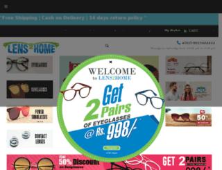 lens2home.com screenshot