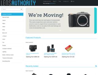 lensauthority.com screenshot