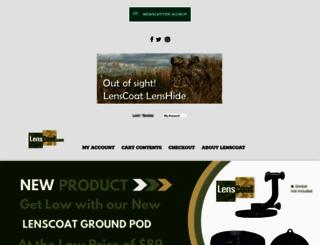 lenscoat.com screenshot