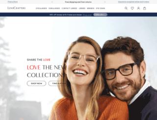 lenscrafters.com screenshot