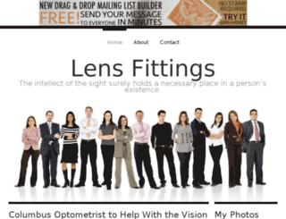 lensfittings.bravesites.com screenshot