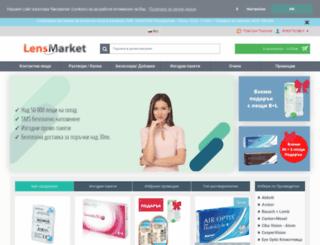 lensmarket.bg screenshot