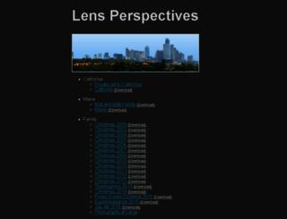 lensperspectives.com screenshot