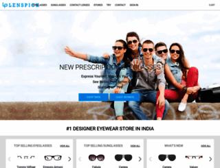 lenspick.com screenshot