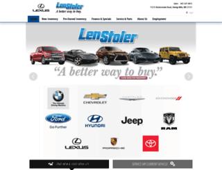 lenstoler.com screenshot