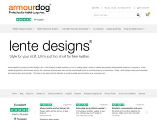 lentedesigns.com screenshot