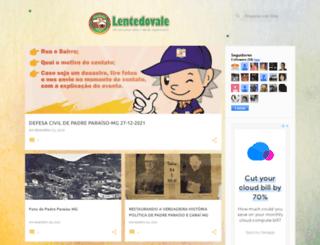 lentedovale.blogspot.ca screenshot