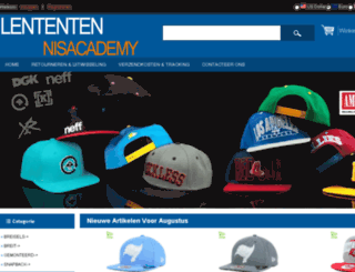 lententennisacademy.nl screenshot