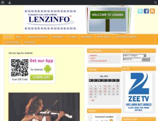 lenzinfo.co.za screenshot