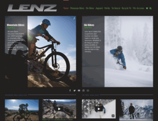 lenzsport.com screenshot