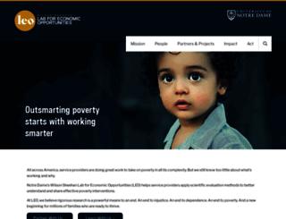 leo.nd.edu screenshot