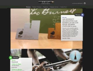 leoburnettcr.com screenshot