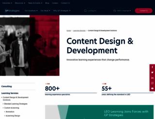 leolearning.com screenshot