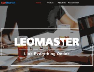 leomaster.com.cn screenshot