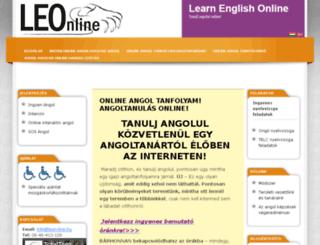 leon-line.hu screenshot
