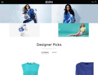 leon.shopshark.net screenshot